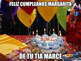 birthday margarita cumpleanos margarita