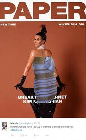 Kim Kardashian Pregnant Meme - the dress celebrities join the white and gold or blue and black