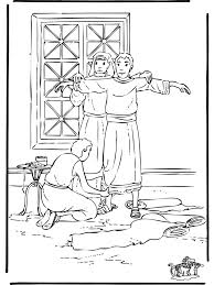 david and jonathan best friends coloring page eliolera com