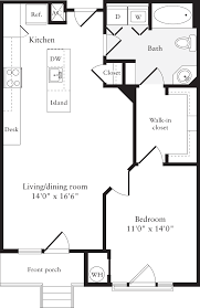 How Big Is 550 Square Feet Lofts 590 Apartments In Pentagon City Arlington 590 S 15th St