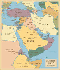 middle east map and capitals large political map of southwest asia with capitals and major in