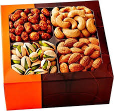 vegetarian gift basket s day gift basket 4 different delicious nuts kosher