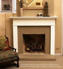 mantels for brick fireplaces nativefoodways org