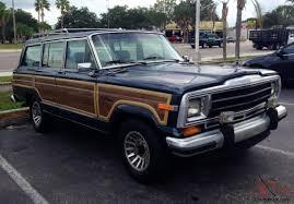 1989 jeep wagoneer jeep grand wagoneer woody addition 156 119 original miles 5 9l 360 v8