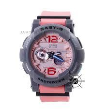 Jam Tangan Baby G harga sarap jam tangan baby g bga 180 4b2 pink abu abu