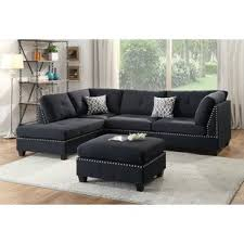 Cheap Black Leather Sectional Sofas Sofas Sectionals You Ll Wayfair