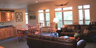 Lake House Kitchen by Interior Lake House Rentals