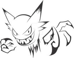 gengar tribal tattoo by nainu on deviantart