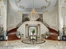 Chandeliers For Foyer Traditional Entryway With High Ceiling U0026 Chandelier In Potomac Md