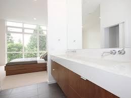 White Modern Bathroom Vanities Bedroom Wonderful White Brown Wood Glass Stainless Unique Design
