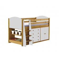 Verona Bed Frame Verona Midsleeper Bed In Solid Pine Available As Set With Furniture