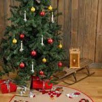 cross stitch tree skirt kit decore