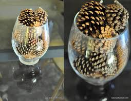 pine cone table decorations pine cone table feature be a