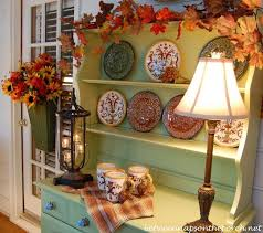 Decorating A Hutch Decorate Your Home In White For Fall