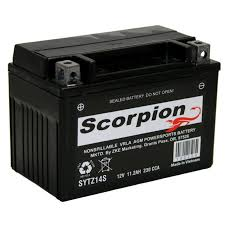 ytz14s battery scorpion 12 volt motorcycle batteries