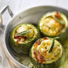 cuisiner des courgettes au four courgette ronde au four recette recette courgette ronde