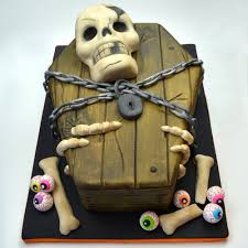 Halloween Coffin Cake by Halloween Skull Cake Holiday U0026 Special Occasion Cakes