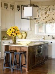 cottage kitchen islands cottage inspired white kitchen tobi fairley hgtv