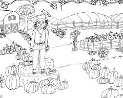 pumpkin patch coloring pages eson