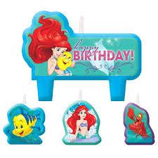 the mermaid cake mermaid cake candle set 4 pcs