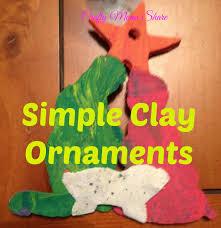 crafty clay nativity ornaments