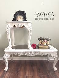 ornate carved coffee table and end table rel belle u0027s reloved