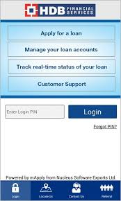 login services apk hdb financial services onthego 2 3 9 apk android