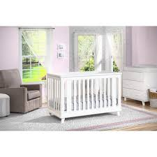 Crib White Convertible Delta Children 3 In 1 Convertible Crib White Sam S Club