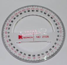 all circular protractor 360 degrees 15 20 25 and 30 cm diameter
