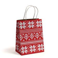 christmas shopping bags alpine sweater christmas boxes bags boxandwrap