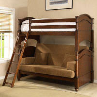 Whalen Furniture Charlotte Futon Bunk Bed Member Reviews Sams Club - Wood bunk bed with futon