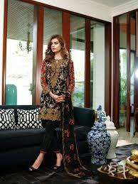 mina hasan luxury embroidered eid collection 2016 stylish eid