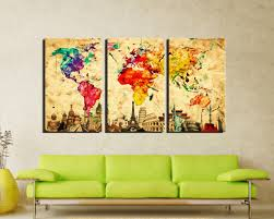 world of wonders home decor save 44 damenight 3 panel wall art painting for home decor