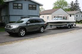 toyota highlander towing 2010 toyota highlander rear end sags tow 1 complaints