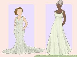 Design A Wedding Dress 4 Ways To Choose A Wedding Dress For Your Body Type Wikihow