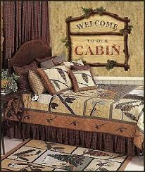 Hunting Home Decor Lodge Cabin Log Cabin Themed Bedroom Decorating Ideas Moose