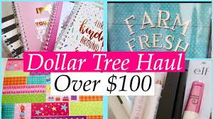 dollar tree over 100 haul sept 19 new e l f makeup cute