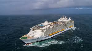 cruise ship the world world s new largest cruise ship sets sail fox news