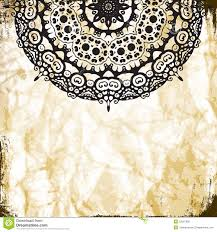 lace pattern background with indian ornament stock photography
