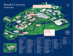 Gsu Campus Map 14 Stages Of Being Back At Brandeis