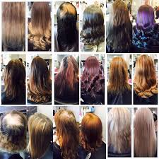 permanent hair extensions 22 best hair extensions before and afters images on