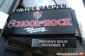 The Winter Garden Theater - winter garden theatre box office now open for of rock the