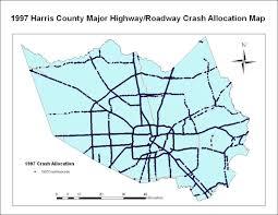 harris county toll road map cven 689 2005 term project report xu