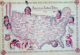 United States Tribal Nations Of by Indian Tribe Map My Blog