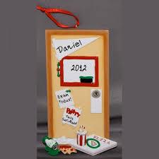 personalized graduation ornaments graduation ornament door personalized