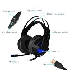 Discount Hyperx Cloud Stinger Gaming Headset For Pc Xbox One Ps4 Wii U Nintendo Switch Hx Hscs Bk Na Amazon Com Usb Gaming Headset Collee 7 1 Vibration Surround