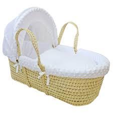 Baby Moses Basket Bedding Set Buy Preciouslittleone Moses Basket Bedding Set Dimple White