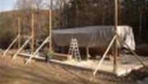 How To Build A Pole Barn Plans by How To Build A Wood Floor With Pole Barn Construction Bizfluent