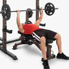 How To Do A Incline Bench Press Amazon Com Steelbody Deluxe 6 Position Utility Bench Stb 10105