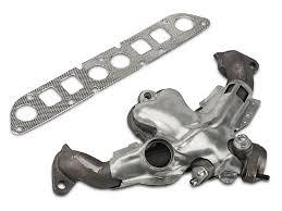 jeep wrangler exhaust systems omix ada wrangler exhaust manifold kit w gasket 17622 04 91 02